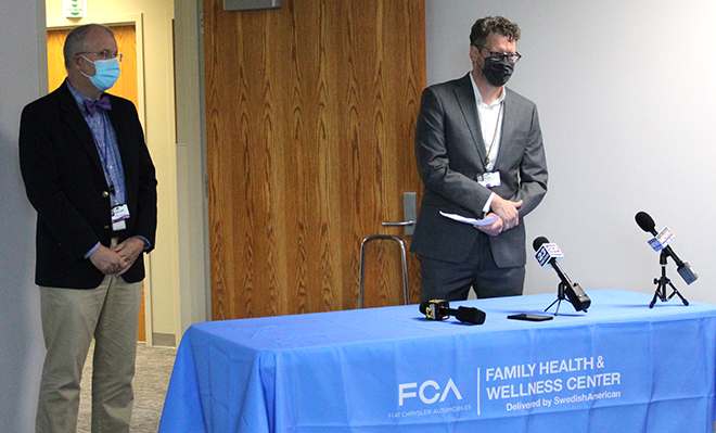 SwedishAmerican opens primary care wellness center serving FCA Belvidere Assembly Plant employees and their families