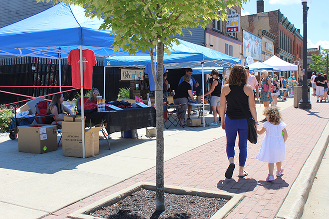 Another Buchanan Street Stroll delights downtown Belvidere
