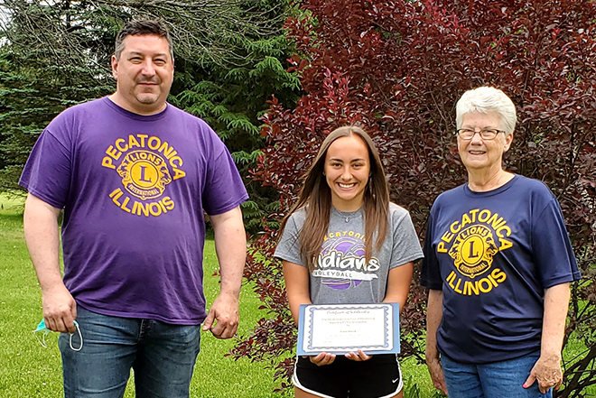 Pecatonica Lions announce 2020 scholarship recipients