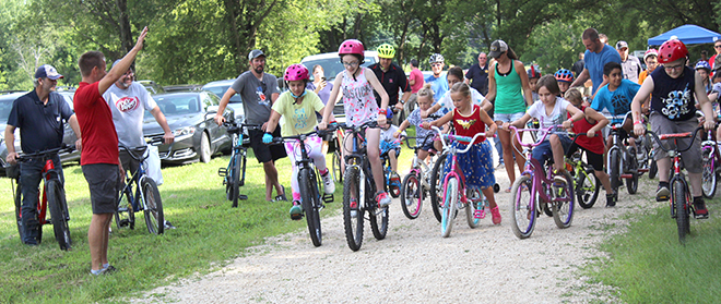 Rep. Joe Sosnowski 's Kids Bike-A-Thon
