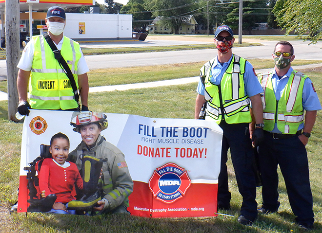 Belvidere's Fill the Boot campaign for MDA considered a success