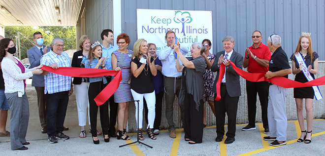 Keep Northern Illinois Beautiful opens new facility in Machesney Park