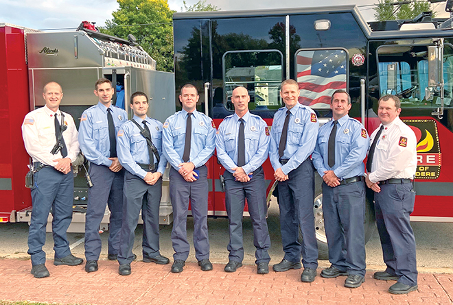 Firefighters honored for life-saving efforts