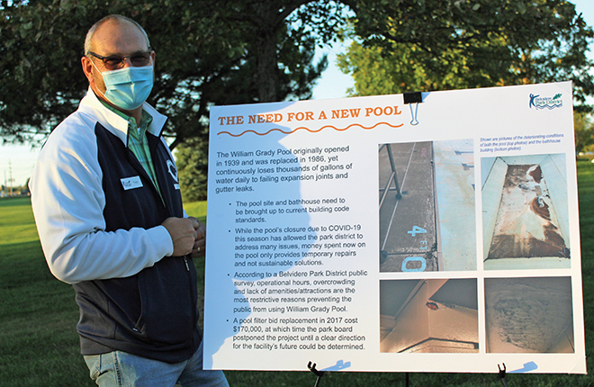 Park District Aquatics Committee holds open house