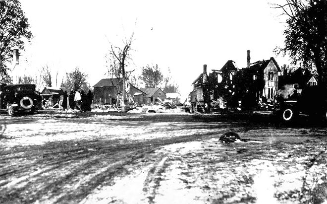 Otter Creek Historical provides history of fires in Durand