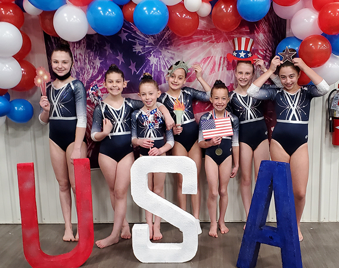 J&J Tumbling and Trampoline athletes bring home 10 State Championship titles