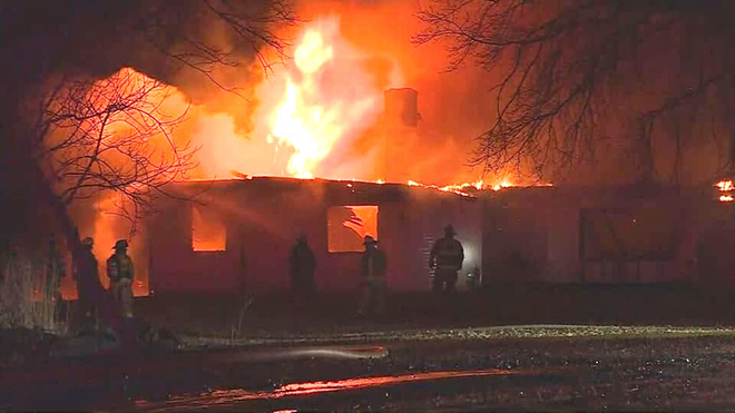 Multiple dogs rescued from Winnebago home fire