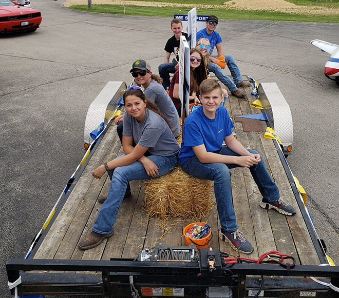 Durand FFA members rode in the Pecatonica Memorial Day Parade on May 31.