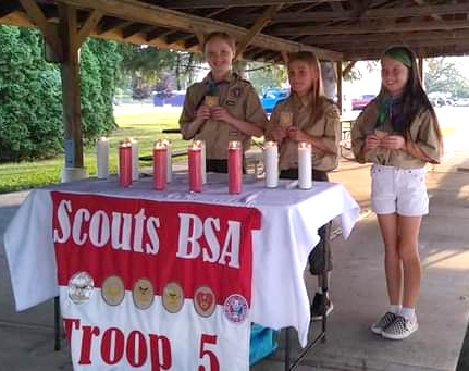 Scouts celebrate accomplishments with Court of Honor