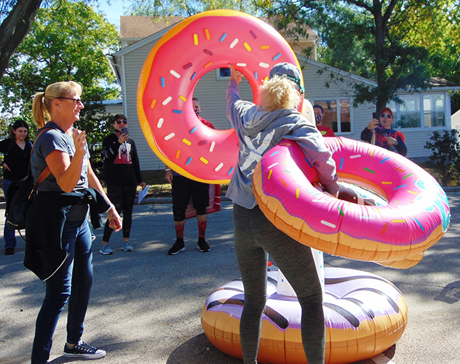 Fun, challenges, laughter found at The Great Rockton Race